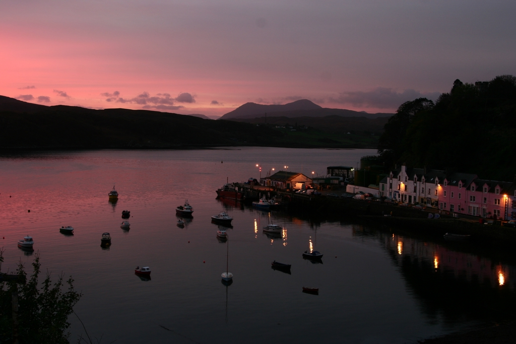 portree, hotels with views on the Isle of Skye